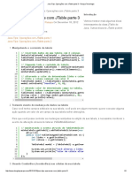 Java Tips_ Operações Com JTable Parte 3 - Pasqua Tecnologia