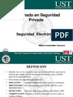 Modulo Seguridad Electronica Diplomado 2016