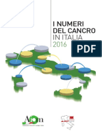 2016 Numeri Del Cancro AIOM-AIRTUM