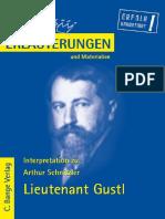 (Koenigserlaeuterungen Band 463) Horst Grobe-Erläuterungen Zu Arthur Schnitzler, Lieutenant Gustl-Bange Verlag (2009).pdf