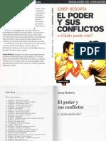 Redorta Josep - El Poder Y Sus Conflictos.pdf
