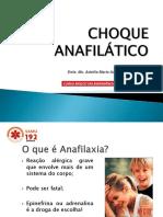 Anafilaxia e Hipovolemia