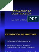 Finanzas en La Construccionaa