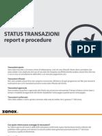 Report Transazioni
