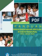 Panduan Penyelenggaraan Sekolah Dasar Standar Nasional