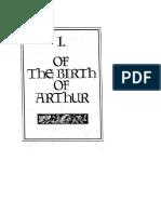 the birth of arthur