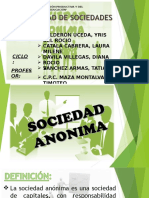 Las Sociedades Anonimas