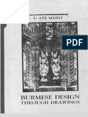 Burmese Design Through Drawings | Religion And Belief