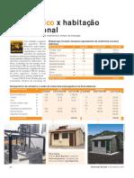 CONSTROE Kit Metálico x Habitação Convencional