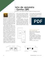 CONSTROE Projeto-piloto de Concreto Celular Em Cunha (SP)