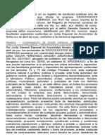 Modelo de Minuta de Otorgamiento de Poder Especial Para Diligencias de Conciliacin Extrajudicial y Para Procesos Judiciales 1 638