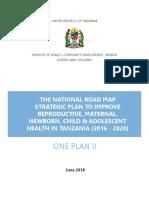 Tanzania One Plan II