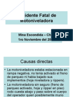 Accidente Fatal de Motoniveladora-1
