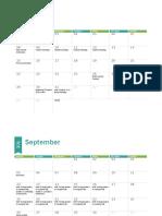 Formal Testing Calendar 2016-17