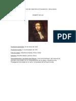 Biografias de Cientificos Quimicos y Biologos