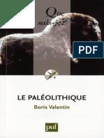Le paleolithique - Valentin Boris.epub