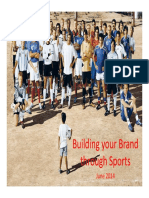 Using Sports Marketing to Build Brands