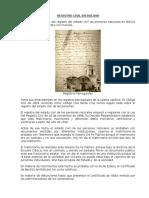 Registro Civil en Bolivia
