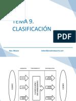 Tema  9, Clasificación.pdf