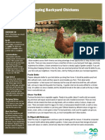 2015 Backyard Chickens Fact Sheet
