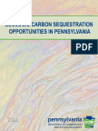Geologic Carbon Sequestration Opportunities in PA 2009