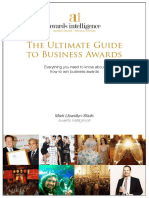 Ultimate Guide to Business Awards