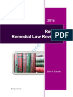 Updated Remedial Law Reviewer 2016