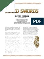 Hired Swords Playtest v20 Rules