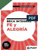 Manual Del Postulante Fe y Alegría