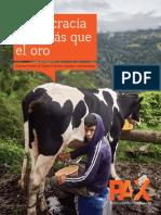 Informe PAX - Democracia Vale Mas Que El Oro