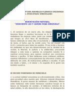 Centésima Séptima Asamblea Plenaria Ordinaria CEV