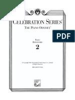 The Piano Odyssey - Repertoire 2