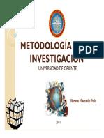Clase 1. Metodologia de La Investigacion