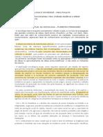 Fichamento Sociologia Como Ciência - Herança Intlectual Da Sociologia Florestan