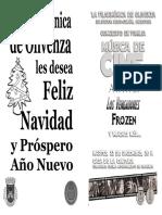 Programa Concierto Navidad 2015