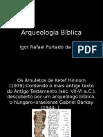 Arquiologia Bíblica