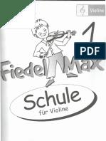 Fiedel Max Schule Fur Violine