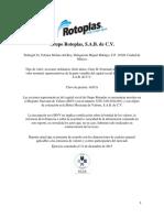 Informe Anual 2015 Rotoplas