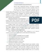 Bazele managementului financiar curs