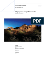 mapungubwe interpretation centre case study