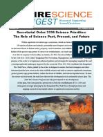 Fire Science Digest 23