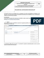 Instructivo Acceso Al Simulador Del Cuestionario Ser Bachiller