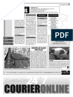 Claremont Courier Classifieds 1-13-17