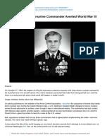 How One Soviet Submarine Commander Averted World War III