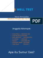 Gas Well Test