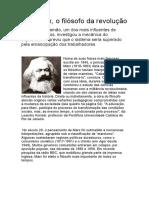 Filosofia de Karl Marx