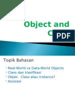 Pertemuan 4 Object Dan Class