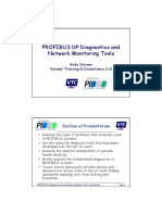 PROFIBUS DP Diagnostics Monitoring