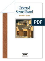 Oriented Strand Board Product Guide