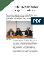 Argentina de Nuevo en Crisis-universidad París